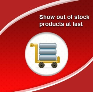 Show out of stock products at last