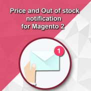 Price and Out of stock  notification  for Magento® 2