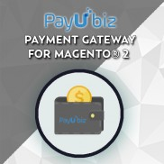 Payubiz payment gateway for Magento® 2
