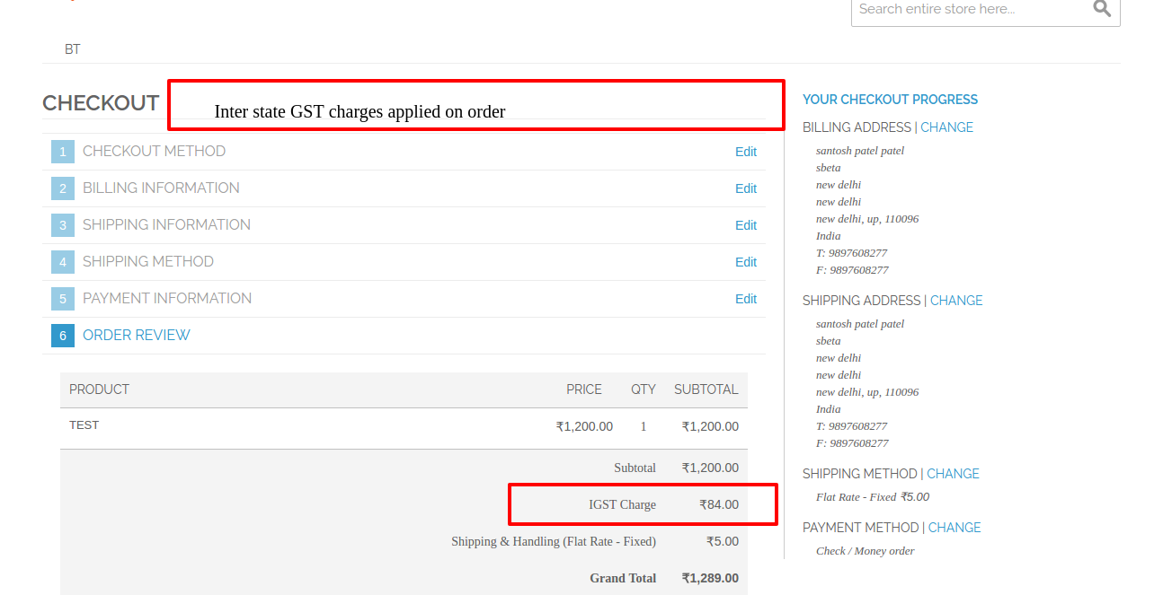 Indian GST Module For Magento®
